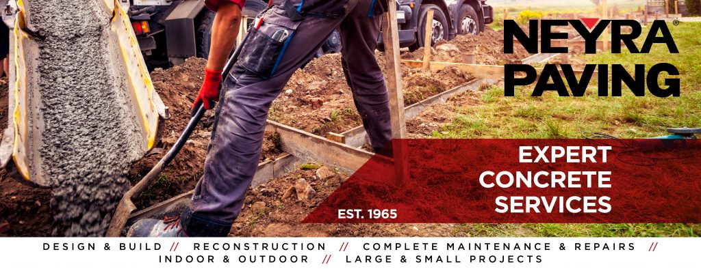 Neyra Paving, Concrete and Asphalt Paving Company in Cincinnati, OH.